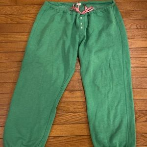 J. Crew Green Sweatpants Size XL
